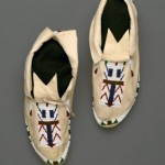 A pair of moccasins
