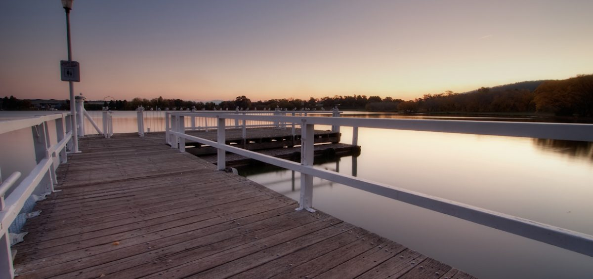 Lake Burley Griffin in Canberra by Sam Ilić